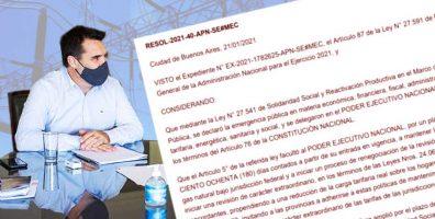 Carta al secretario de Energía: el cooperativismo eléctrico se pronunció sobre la reglamentación del Art. 87
