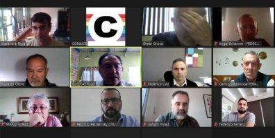 Representantes de la CONAICE mantuvieron una reunión con el titular del INAES
